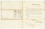 1860 August 30: J. Thompson, Secretary of the Interior, United States, to the Governor of Arkansas, Letter accompanying copies of