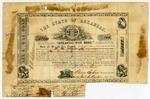 1861 June 25: Arkansas War Bond #150 of A.M. Woodruff, $500