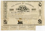 1861 July 8: Arkansas War Bond #868 of J.H. Imboden, $300