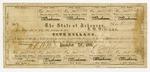 1861 December 26: Arkansas War Bond #89343 of S.W. Williams, $5