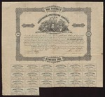 1862 October 21: Confederate States of America eight percent coupon bond