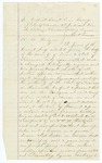 1866 September 29: Bill of Indictment: State of Kansas versus A.A. Rodgers, Linn County, Kansas, Charged with selling liquor without a license