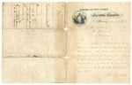 1871 June 15: John T. Hoffman, Governor of New York, to the Governor of Arkansas, Letter transmitting copy of an act of the New York legislature concerning the Washington National Monument