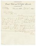 1879 September 19: W.S. Dunlap, Clarendon, Arkansas, to D.W. Lear, Commissioner of State Lands, Letter transmitting applications for land donation for W.M. Spencer and G.B. Walker