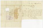 1880 September 3: J.K. Brodie, Plum Bayou, Arkansas, to D.W. Lear, State Land Commissioner, Letter transmitting application and money of J.T. Webb for donated land