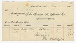 1898 February 1: The George H. Meade Company, Little Rock, to L.C. Gulley, Invoice
