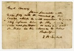 E.H. English, to General Conway, Requesting that George Ivy be given information about his land
