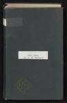 T. W. Hardison diary, 1939