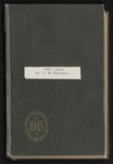 T. W. Hardison diary, 1945