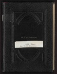 T. W. Hardison diary, 1952