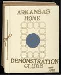 Arkansas Home Demonstration Clubs scrapbook, 1956-1957