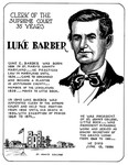 Barber, Luke E. by William J. Lemke