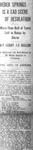 """Heber Springs is a Sad Scene of Desolation,"" Arkansas Gazette, November 26, 1926"