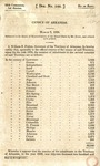 """""""Census of Arkansas,"""" March 3, 1836 by William S. Fulton"""