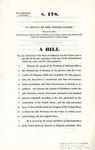 A Bill for the Admission of the State of Arkansas