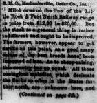 """The Spirit of the Times,"" Spirit of Arkansas, April 6, 1880"