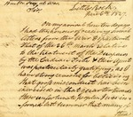 Letter from George Izard to the Secretary of War, June 6, 1827