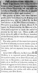 """The Emigrating Indians"" Arkansas Gazette article, January 4, 1832"