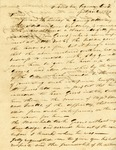 Letter from P. Brantley to Cherokee Agency