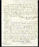 1861 bill of sale for slave Sarah and child Ellis