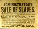 Sale of slaves from James Lawson's estate