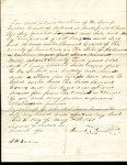 Samuel Lawrence bill of sale for Milly, slave