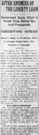 """After Enemies of the Liberty Loan,"" Arkansas Gazette, October 19, 1917"