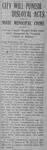 """City Will Punish Disloyal Acts,"" Conway Log Cabin Democrat, April 25 1918"