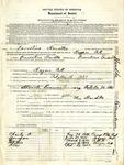 Alien enemy registration form for Ernestine Hardke