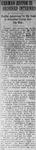 """German Editor is Ordered Interned,"" Arkansas Gazette, August 22, 1917"