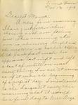 Burke letter about the Armistice