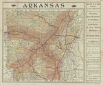 Map Showing the Land Grants of the St. Louis, Mountain and Southern, Little Rock and Fort Smith Railways in Arkansas