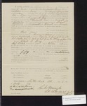 1864 July 9: Pay certificate at discharge, Charles E. Berry, private, Company H, Second Regiment, Arkansas Infantry volunteers