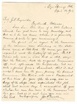 Letter from Jas [James] A. Venable to J.H. Reynolds, 1906 April 14 by Jas A. Venable