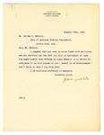 Letter from J.H. Reynolds to Dallas T. Herndon, 1917 January 16