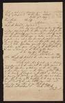 1840 November 14: Letter, Elias Rictor, plaintiff, v. Charles B. Mitchell, defendant; S.T. Sanders, clerk; Cocke T. Picks, N.L. Phillips, justice of the peace