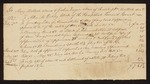 1829 June 15: Voucher, lists prices of court services; Mary Matlock and Joshua Fuqua, administrators of the estate of William Matlock, owe Allen M. Oakley, clerk