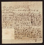 1843 October 13: Letter, to sheriff of Hempstead county; to summons Richard P. Williams