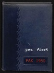 Pax yearbook 1950 by Subiaco Abbey and Academy