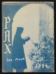 Pax yearbook 1954 by Subiaco Abbey and Academy