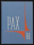 Pax yearbook 1961 by Subiaco Abbey and Academy