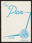 Pax yearbook 1963 summer by Subiaco Abbey and Academy