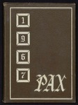 Pax yearbook 1967 by Subiaco Abbey and Academy