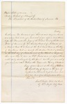 1865 August 30: Venire facias, commanding the assembly of a petit jury, for 1865 November 13 session; signed Samuel Cooper, clerk, by R.F. Naylor, deputy clerk