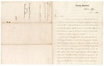 1865 December 18: Letter from Edward Jordan, Solicitor of the Treasury, transmitting forms and instructions to Samuel Cooper, clerk, U.S. District Court, Van Buren, Arkansas