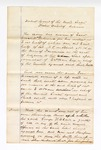 1866 May 16: U.S. v. Real Estate of G.W. Clark, claim and answer of Ester Crockett by daughter, Sallie Sellers; Samuel Copper, clerk