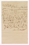 1867 July 13: Subpoena for witnesses, John Raymond and A. J. Stacy, in U.S. v. Allen Sams; signed by James Wood, Justice of the Peace; served by L. C. White, marshal; Holleman, deputy