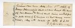 1869 August 18-November 1: E. Simpson v. Thomas Kersey, Receipts for witnesses, W. F. Blackburn, M.J. Irvin, Mark Tatum, E. J. Bradshaw, James Edmondson, H. H. Trammel, R. M. Littlejohn, Luther White, Samuel Ogden, paid by James O. Churchill