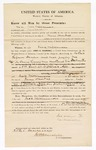 1870 March 25: Bond for appearance, U.S. v. Jack Williamson, being a retail liquor dealer and not paying tax; David Williams, surety; James Churchill, commissioner