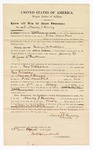 1870 April 25: Bond for witness, Nancy Lemay, in U.S. v. George W. Wallace, giving liquor to Indians; James Churchill, commissioner